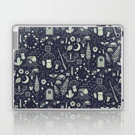 Fairy Garden: Midnight Laptop & iPad Skin
