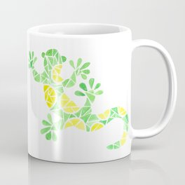 Geometric gecko Coffee Mug