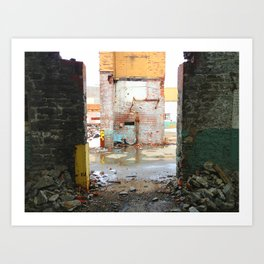 Doorway To Another Time Art Print