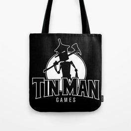 Tin Man Games logo Tote Bag