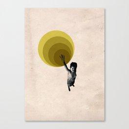 """Radiate"" Graphic Illustration Canvas Print"
