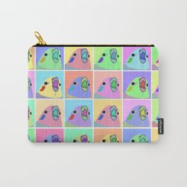 pop art cockatiel Carry-All Pouch