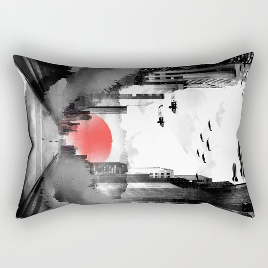 Still Rising Rectangular Pillow