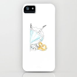 Alice Alphabet K iPhone Case