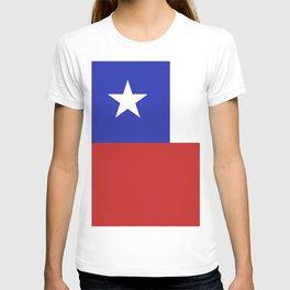 Chile flag emblem T-shirt