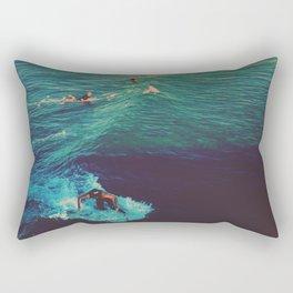 Ride the Wave Rectangular Pillow
