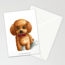 I am always there for you Stationery Cards