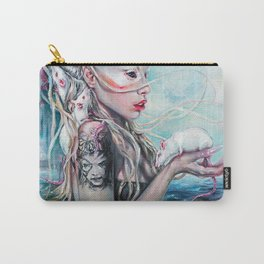 Yolandi The Rat Mistress 	 Carry-All Pouch