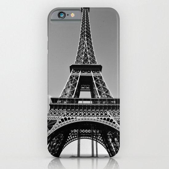 Tower Eiffel En Noir iPhone & iPod Case
