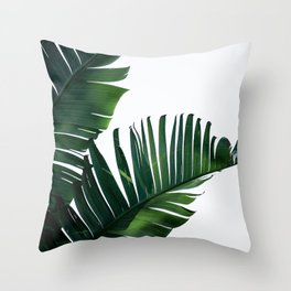 Palm Leaves 16 Throw Pillow