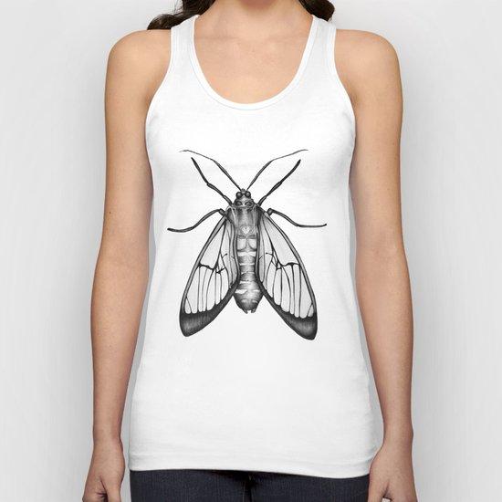 Wasp Moth Unisex Tank Top