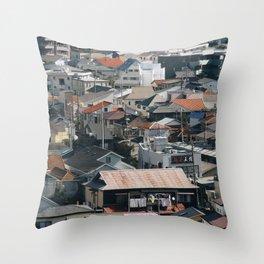 Kamakura, Japan Throw Pillow