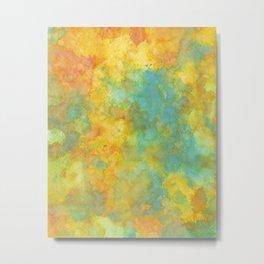 Ink Play - Abstract 01 Metal Print