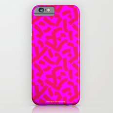 Hot Pink Cheese Doodles /// www.pencilmeinstationery.com Slim Case iPhone 6s