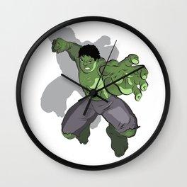 Green Masa Wall Clock