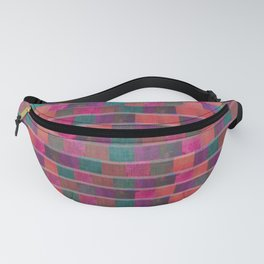 """Full Color Squares Pattern"" Fanny Pack"
