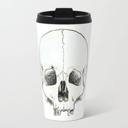 Simple Skull Travel Mug