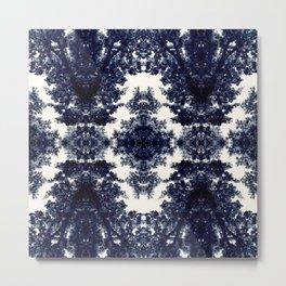 Tiles & Motifs - Porcelain Trees Metal Print