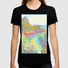 MONET : Landscape Near Montecarlo T-shirt