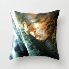 Scrutinize Throw Pillow