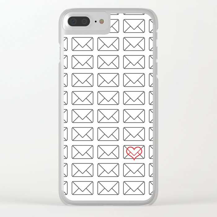Love note Clear iPhone Case
