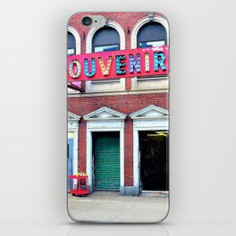 Retro Carnival in the City iPhone Skin