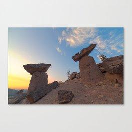 Balancing Rocks Canvas Print