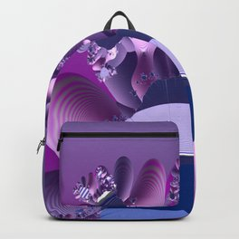 Abstract cactus blooming Backpack