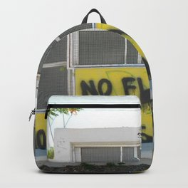 No Flags, No Borders Backpack