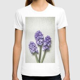Three Lilac Hyacinth T-shirt
