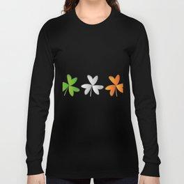 Shamrock Irish St Patricks Day Long Sleeve T-shirt