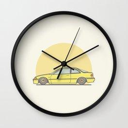 Honda Integra DA5 vector illustration Wall Clock