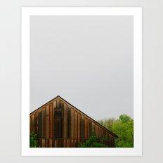Cabin Season Art Print