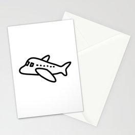 Baby Cartoon Aeroplane Stationery Cards