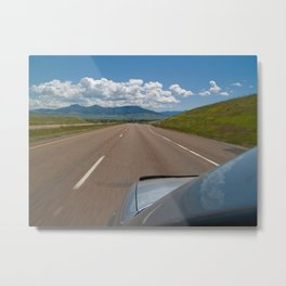 Interstate 15 Metal Print