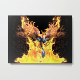 Flames of Life Metal Print