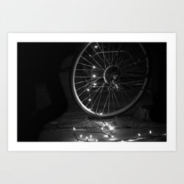 Hope in the Spokes Art Print