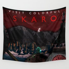 Visit Colorful Skaro Wall Tapestry