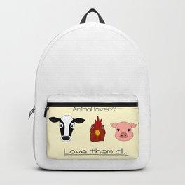 Animal lover? Backpack