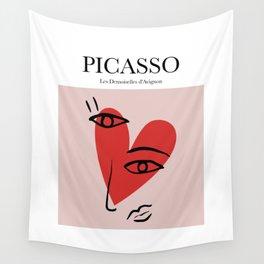 Picasso - Les Demoiselles d'Avignon Wall Tapestry