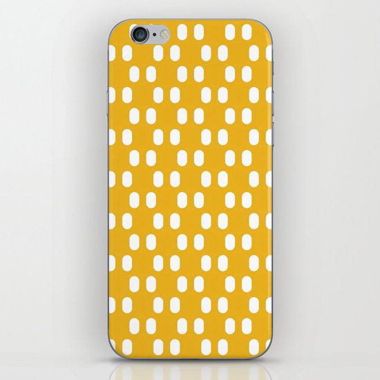 Aelbrecht Yellow Pattern iPhone & iPod Skin