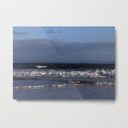 Blue Diamonds Metal Print