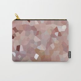 Pink Quartz Crystals Carry-All Pouch