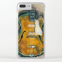 Scotty Moore's Guitar Clear iPhone Case