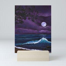 Romantic Kauai Moonlight Mini Art Print