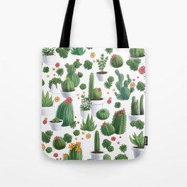 Succulent Cacti Tote Bag