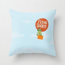 Flying Shokoy (Philippine Mythological Creatures Series) Throw Pillow