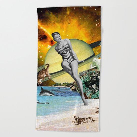 Cat Island Beach Towel