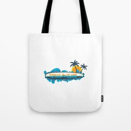 Topsail Island - North Carolina. Tote Bag