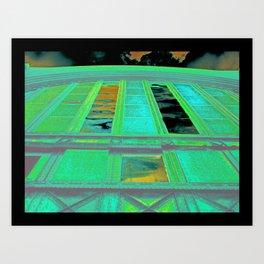 Buffalo Central Terminal Art Print